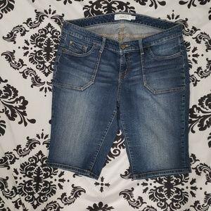 Torrid size 16 denim Bermuda shorts